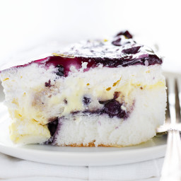 Lemon Blueberry Heaven Dessert