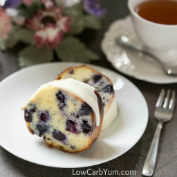 Lemon Blueberry Pound Cake Recipe - Gluten Free