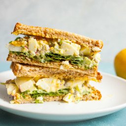 Lemon Caper Egg Salad
