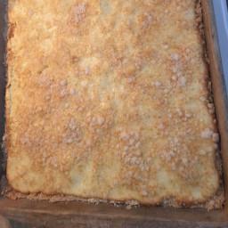 Lemon Cheese Bars - Gluten Free