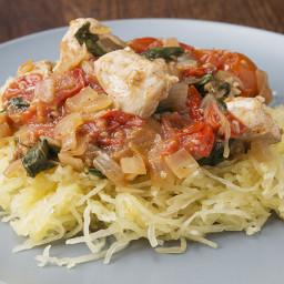 Lemon Chicken and Spaghetti Squash Recipe by Tasty
