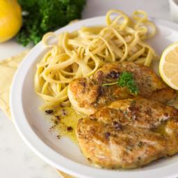 Lemon Chicken With Butter Sauce