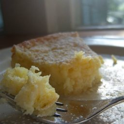 Lemon Cream Butter Cake