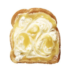 Lemon Cream Swirl Toast
