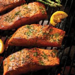 Lemon-Dill Salmon Fillets
