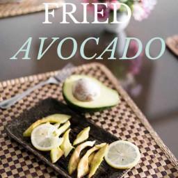 Lemon Fried Avocado Recipe [Paleo, AIP]