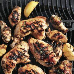 Lemon-garlic grilled chicken