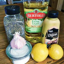 Lemon Garlic Vinaigrette {Whole30 Approved}