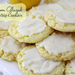 LEMON GLAZED COOL WHIP COOKIES