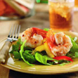 Lemon Glazed Jumbo Shrimp Salad