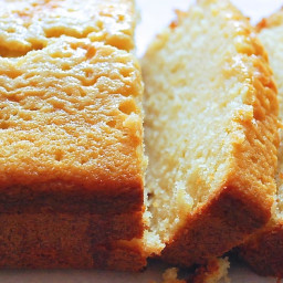 Lemon-Glazed Pound Cake