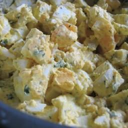 lemon herb egg salad