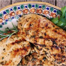 Lemon-Herb Grilled Chicken