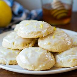 Lemon Honey Cloud Cookies