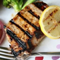 Lemon Honey Pork Chops with Healthy Salt Alternative