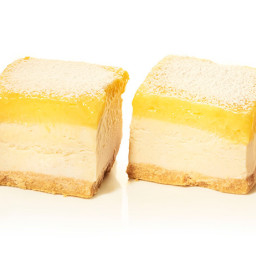 Lemon Ice Cream Bars