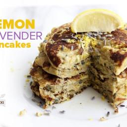 Lemon Lavender Pancakes