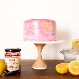 Lemon Ligonberry Cake
