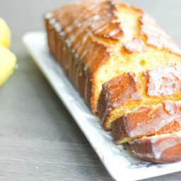 Lemon Loaf with Lemon Glaze