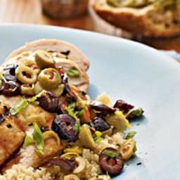 Lemon-Olive Grilled Chicken