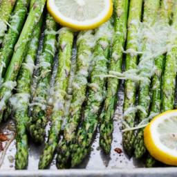 Lemon-Parmesan Asparagus