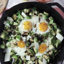 lemon-parmesan-brussels-sprout-and-egg-skillet-2129266.jpg