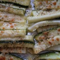 Lemon Parmesan Zucchini