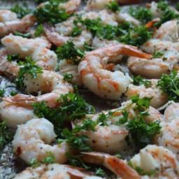 Lemon Parsley Roasted Shrimp