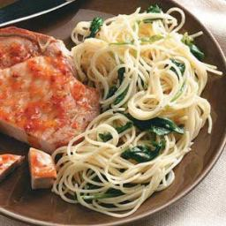 Lemon Pasta with Spinach Recipe