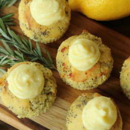 Lemon Poppyseed Muffins (LC)