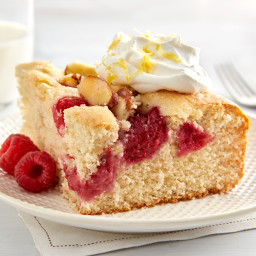 Lemon Raspberry Brunch Cake