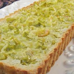 Lemon Rhubarb Bars