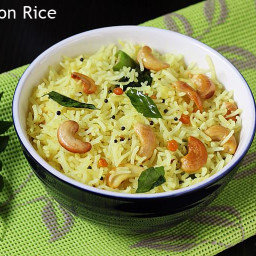Lemon rice recipe | How to make lemon rice