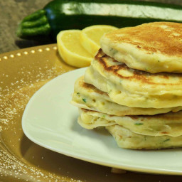 Lemon Ricotta Zucchini Pancakes