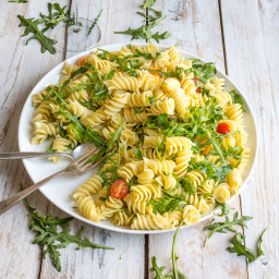 Lemon Rocket Pasta Salad