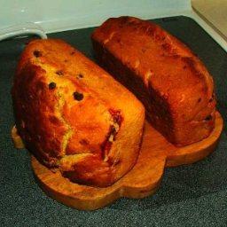 Lemon Saffron Bread