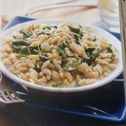 Lemon & Spinach Orzo