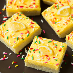 Lemon Sugar Cookie Bars