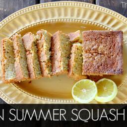 Lemon Summer Squash Bread
