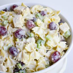 Lemon Tarragon Pasta Salad