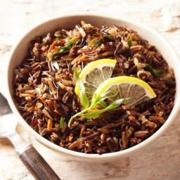 Lemon-Tarragon Wild Rice