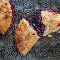 Lemon Thyme and Blackberry Hand Pies