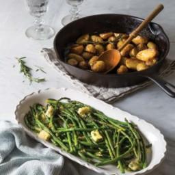 Lemon-Thyme Buttered Asparagus