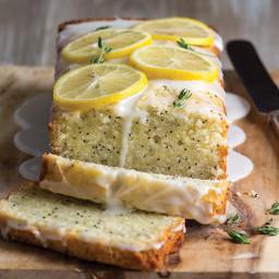 Lemon-Thyme Poppy Seed Cake