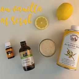 Lemon Vanilla Sugar Scrub