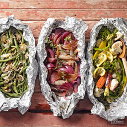 Lemon-Veggie Foil Pack