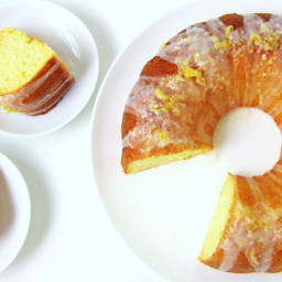 Lemon Yogurt Bundt Cake