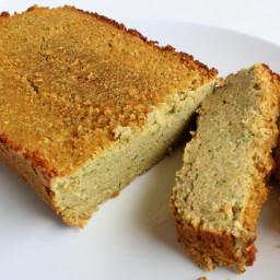 Lemon Zucchini Bread with Coconut Flour