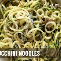 Lemon Zucchini Noodles