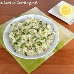 Lemon Basil Rice